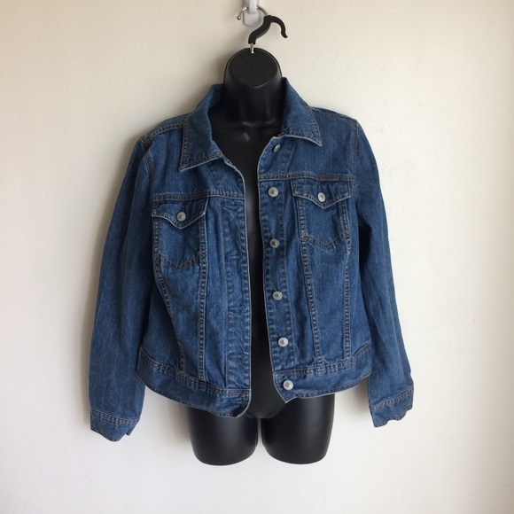 Liz Claiborne Jackets & Blazers - Liz Claiborne Blue Denim Jean Jacket Size Medium